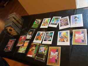 Massive dragon Ball Z/GT card collection