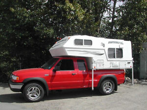 WANTED: slide in truck camper for RANGER/Small truck