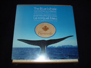 2010 The Blue Whale Coin and Stamp Collection STILL SEALED