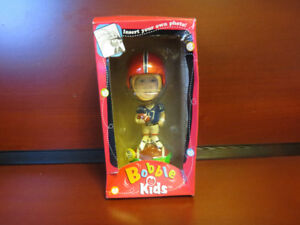 Bobble Kids - Photo Frame Football Player. NEW
