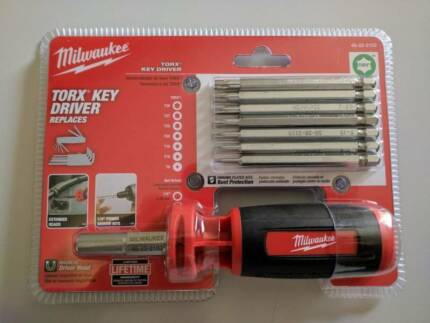New - Milwaukee 10 in 1 Torx Key Driver with wire stripper