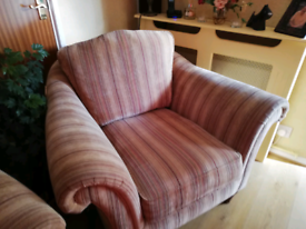 Parker Knoll 2 seat sofa and armchair
