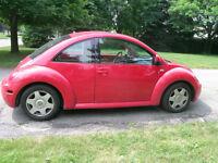 2000 Volkswagen New Beetle Turbo Hatchback