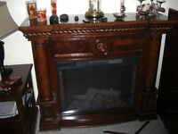 Large Beautiful Electric Fireplace