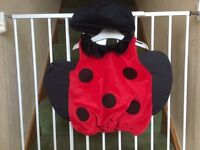 New 12-18 month ladybird Halloween dress up costume