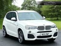 2015 BMW X3 3.0 XDRIVE35D M SPORT 5d 309 BHP Estate Diesel Automatic