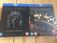 Game of Thrones Season 1 & 2 Blu Ray