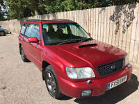 2001 51 Subaru Forester 2.0 S Turbo 4x4 awd manual 170 bhp 34.5 mpg p/x