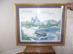 SIGNED LITHOGRAPH BY GERARD VIELLEVIE