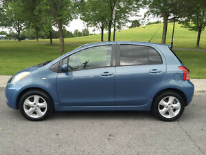 YARIS 2007 ,AUTOMATIC,A/C,ABS,TOUT EQUIPE,150K KM,IMPECCABLE