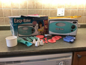Easy Bake Oven - With Extras - Great Used Condition