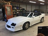 1991 Camaro z28 convertible great shape trade for 4x4 pickup