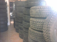 ALL SIZE OF USED WINTERS TIRES