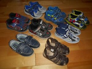 Assorted Boy Shoes & Sandals - Size 11 &12