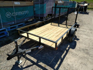 **$59 per MONTH** NEW 5x8 TRAILER  w/GATE RAMP, 1750 LOAD CAP,