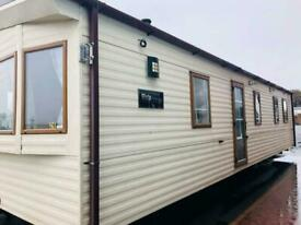 DOUBLE GLAZED STATIC CARAVAN FOR SALE NORTH WALES