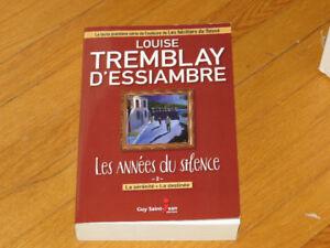 TREMBLAY D'ESSIAMBRE  LOUISE- ANNÉES DU SILENCE  TOME 3-4-/