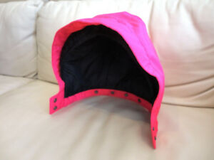 Pink Hood that will fit a Child/Youth FXR Snowmobile Suit Coat