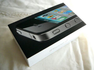 New Sealed Box APPLE IPHONE 4 (WORLDWIDE UNLOCKED) BLACK