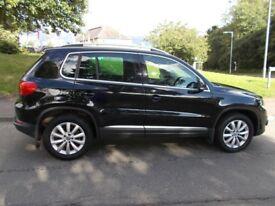 Volkswagen Tiguan MATCH TDI BLUEMOTION TECHNOLOGY 4MOTION (black) 2014