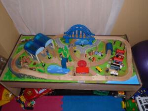 Table de train imaginarium