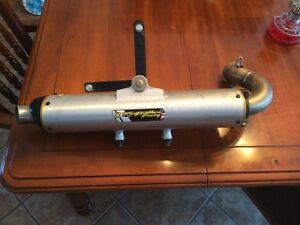 Pipe two brothers pour can-am commander 800cc ou 1000cc