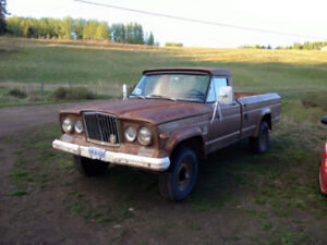 Jeep pickup truck buy or sell classic cars in canada kijiji 1970 kaiser jeep gladiator 3600 publicscrutiny Image collections