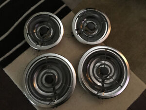 Range Coil Top Replacement with Drip Pan