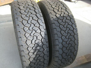 New TWO 2 BFGoodrich Rugged Trail T/A LT265/70R17 tires 10ply