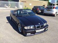 BMW e36 318i convertible mtech 12 months mot