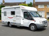 CARADO T135, Hymer, 3 Berth Low Profile, Ford 2.2 TD, Fixed Bed, 33k Miles, LHD!