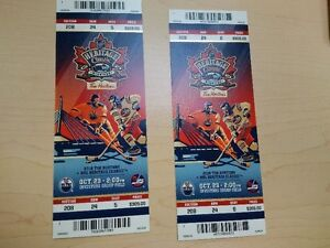 Heritage Classic on Sunday Oct 23  Section 208