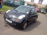 2005 Nissan micra new shape