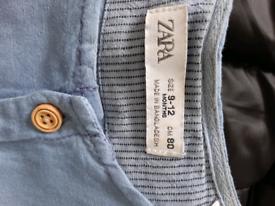 Zara Boys Dungarees /short.