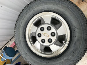 6x5.5 Chevy rims and tires