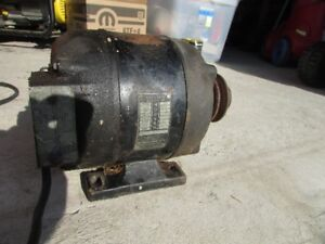 Hoover 1/4 Hp Single Phase Electric Motor