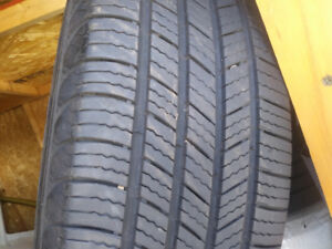 Michelin defender 4tire and wheels off 2005 Dodge Grand Caravan.