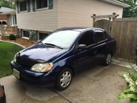 2001 Toyota Echo - For Sale - As Is