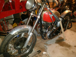 1950 Norton Model 7/ Dominator Twin Project- rare bike
