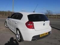 2010 60 BMW 1 SERIES 118D M SPORT 5DR AUTO £3780 OF EXTRAS DIESEL