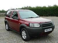 2003 LAND ROVER FREELANDER MASAI MARA HARD TOP ESTATE PETROL