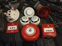 Electricians, Protec 6000 & 3000 smoke alarm/fire Alarm Systems various peripherals
