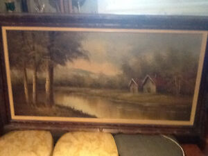 Antique Country Picture For Sale