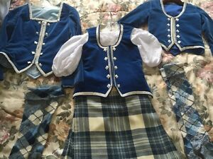 Highland Dance Kilt Outfit with Extras