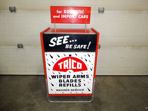 Trico Wiper Cabinet In Very Good Condition Gas Service Station