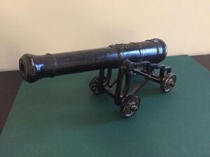 Cast Aluminum Model Cannon Stratford Kitchener Area image 1