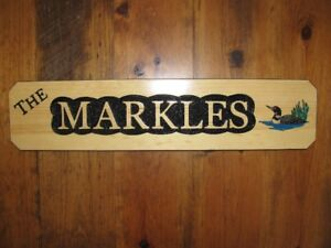 Cottage or Family Name Signs