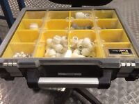 JG Speedfit plumbing fittings in carry case.