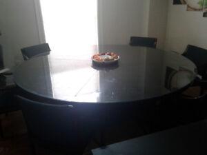 Big round table