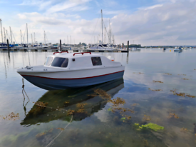 Fishing Boat 14 ft & Suzuki Outboard 40 Hp 2 Stroke